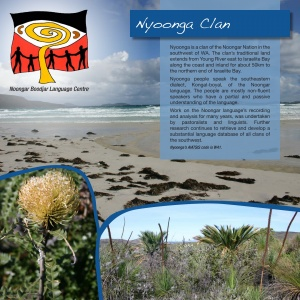 Nyoongar Clan Plaque