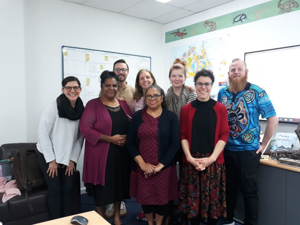 Linguistic training with UWA