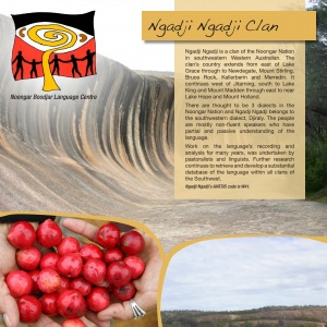 Ngadji Ngadji Clan Plaque